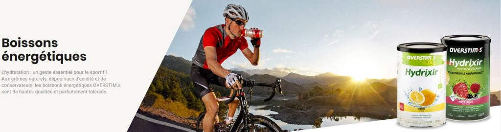 Les boisson énergétiques OVERSTIM.s sont adaptées aux débutants comme aux sportifs confirmés