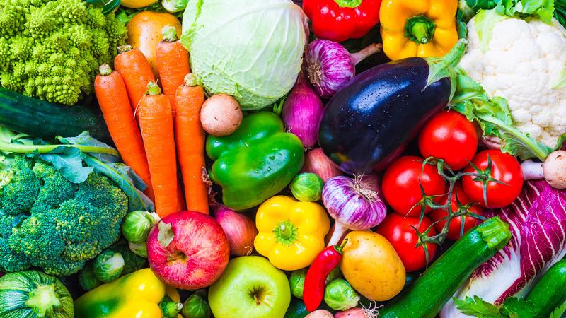 Les antioxydants se trouvent principalement dans les fruits et légumes
