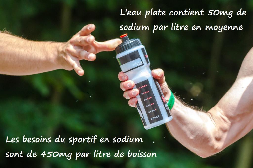 L'eau plate ne contient pas suffisamment de sodium pour les sports d'endurance - Overstim.s