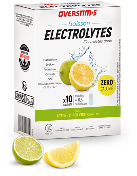 Boisson électrolytes (zérocalorie)